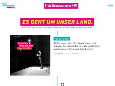 FDP-Landesverband Nordrhein-Westfalen